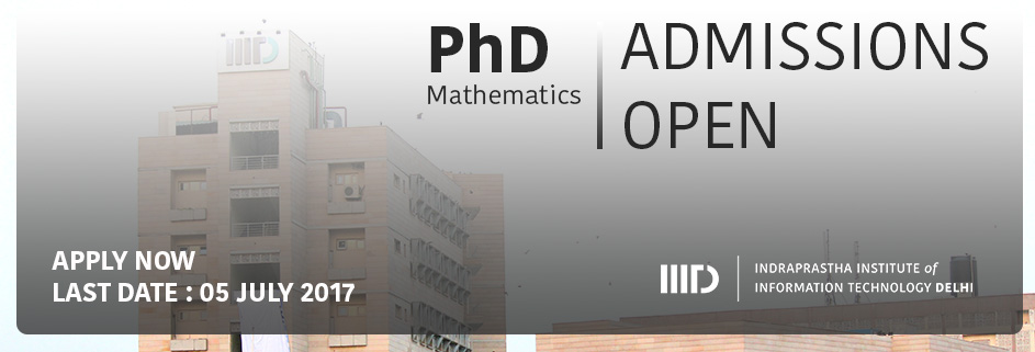 PhD Admissions April 2017