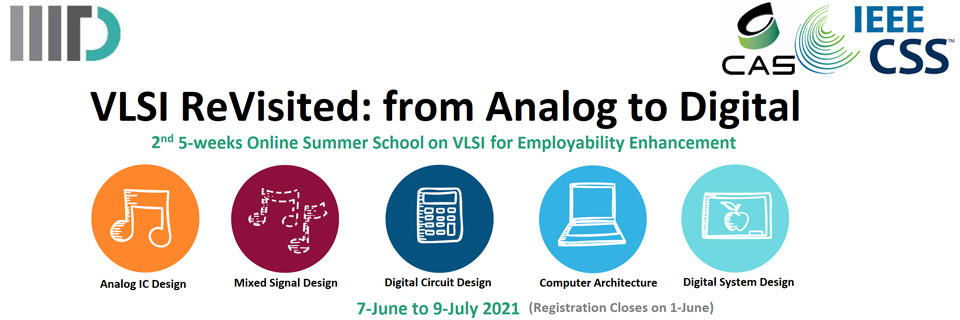 Online Employability Enhancement Program VLSI ReVisited: From Analog to Digital 2021